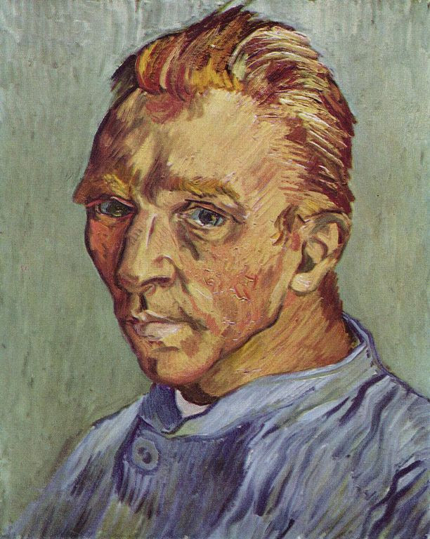 Most Famous Paintings: Self-Portrait Without Beard, by Vincent van Gogh