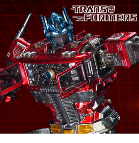 TRANSFORMERS GENERATION 1 OPTIMUS PRIME STATUE