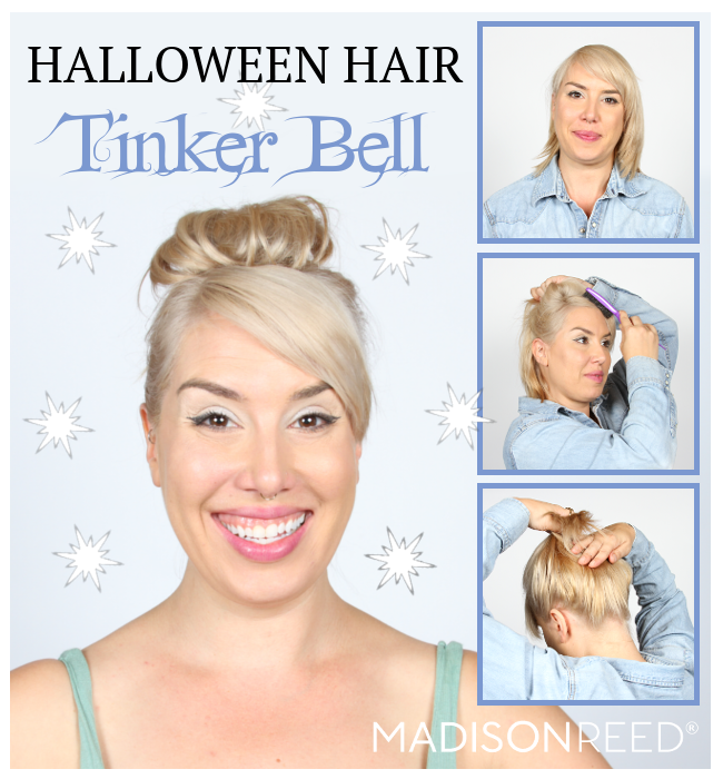 Madison Reed Looking for some great ideas for Halloween?  Here are some Halloween Hairstyle Tutorials