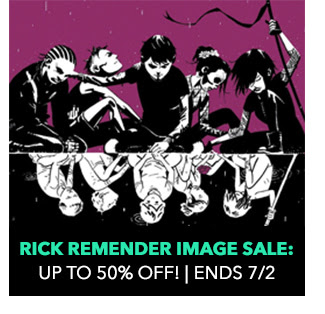 Rick Remender Image Sale: up to 50% off! Sale ends 7/2.