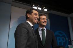 """Casado intenta recomponer la unidad en el PP valiéndose del """"éxito"""" de la negociación en Andalucía"""