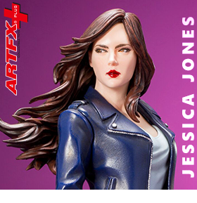 THE DEFENDERS ARTFX+ JESSICA JONES STATUE