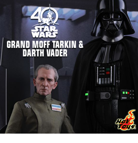 STAR WARS GRAND MOFF TARKIN & DARTH VADER