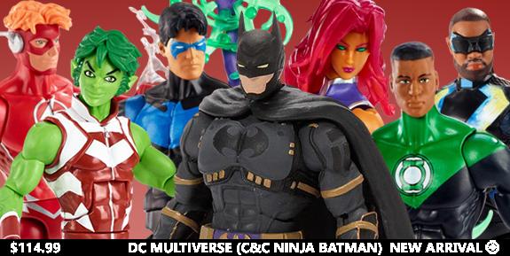 DC Comics Multiverse Wave 11 Set of 6 Figures (Collect & Connect Ninja Batman)