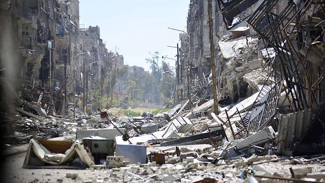 Руины Ярмука