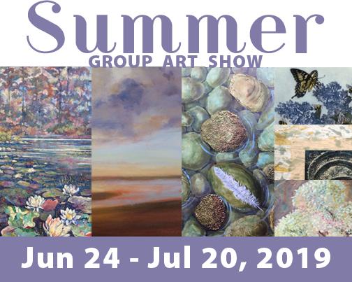 Summer Group Art Show, Jun 24-Jul 20, 2019