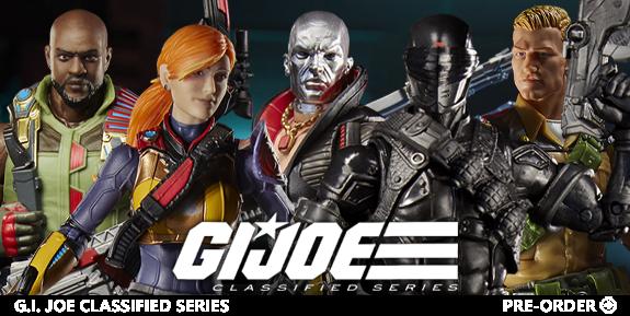 G.I. Joe Classified Series Wave 1