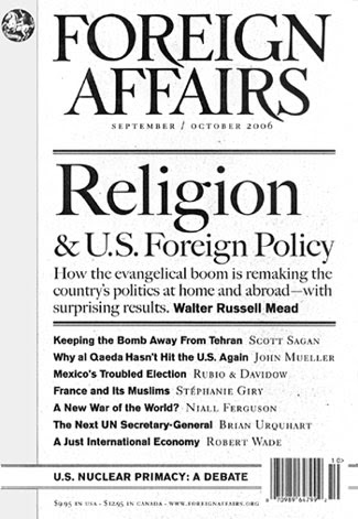 Foreign Affairs - Global Spirituality