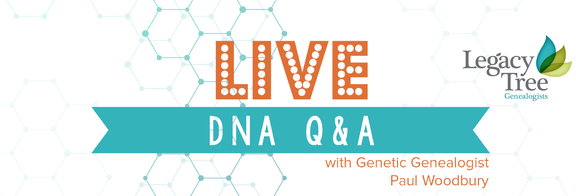 Live DNA Q&A Satuday, Oct. 29th, 10:30 a.m. MDT