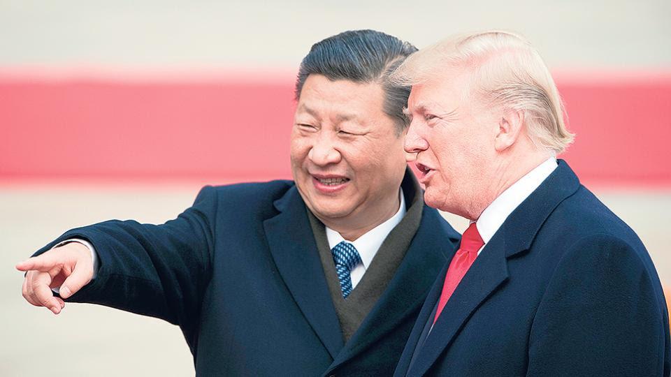 Trump y Xi Jin Ping, actores principales de una película que el gobierno argentino mira por la pantalla.
