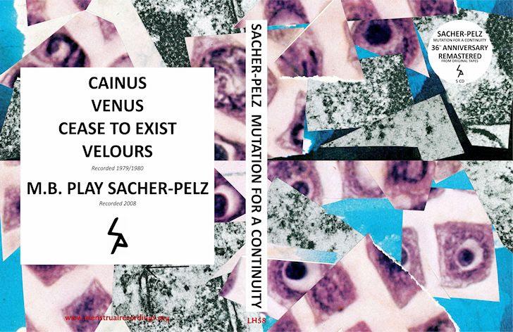 "Sacher Pelz ""Mutation For A Continuity"" 5CD BOX SET (36th Anniversary edition)"