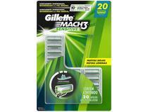 Lâmina de Barbear Gillette Sensitive Mach 3