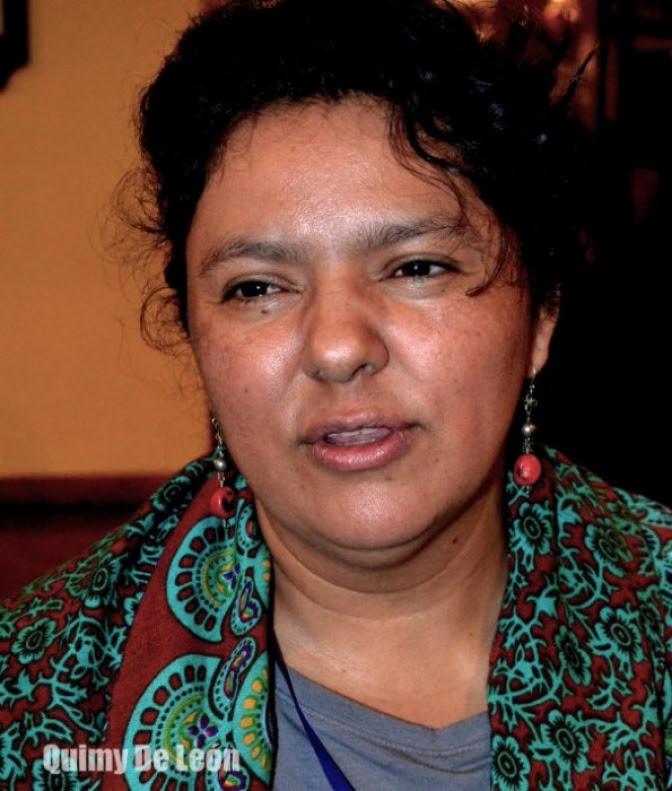 Por ejercer la libertad de expresión: las balas callaron la voz de Bertha Cáceres