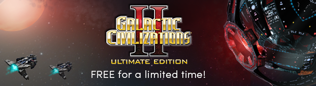 Galactic Civilizations II: Ultimate Edition FREE for a limited time