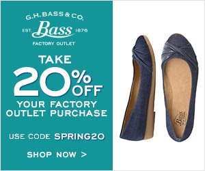 Take 20% off at G.H. Bass &amp...
