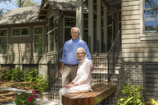 Jim and Claudia Getchell completed their Hilton Head Island home in 2016.