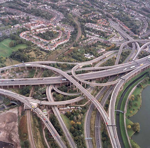 GravellyHillInterchange in Awesome Pictures of Crazy Intersections and Interchanges
