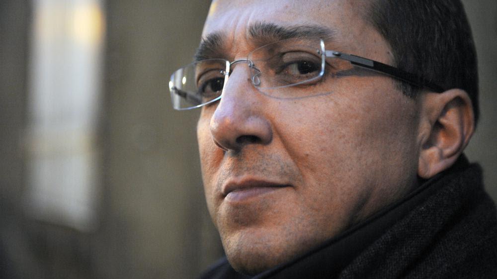 Faouzi Lamdaoui, conseiller de François Hollande, le 23 février 2012 au Mans (Sarthe).