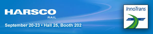 Harsco Rail is at InnoTrans on September 20-23 Hall 25, Booth 202