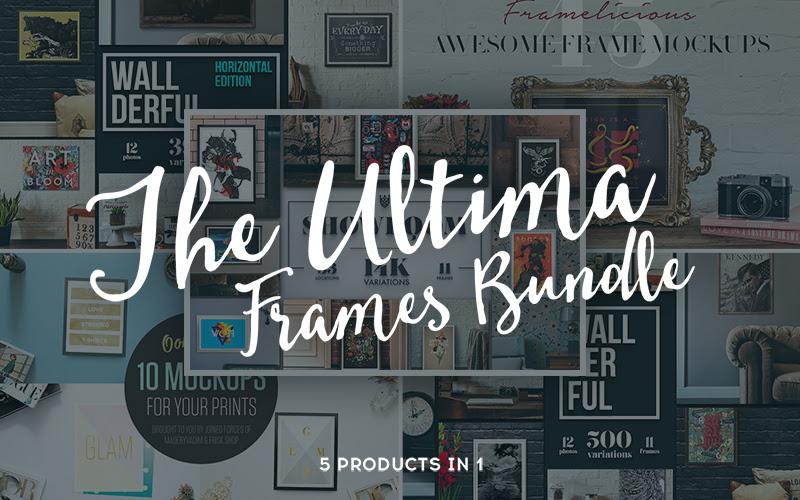 Ultimate Frames Mockup Bundle