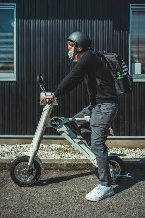 手軽に乗れる、次世代モビリティ「ブレイズスマートEV」デリバリー業務の方へ無償貸出を実施