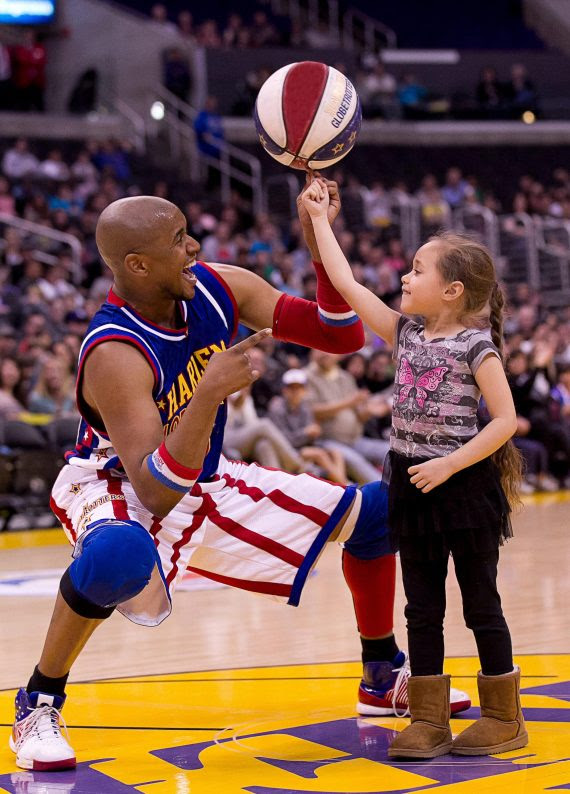 harlem globetrotter little girl