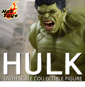 AGE OF ULTRON HOT TOYS HULK AND DELUXE HULK