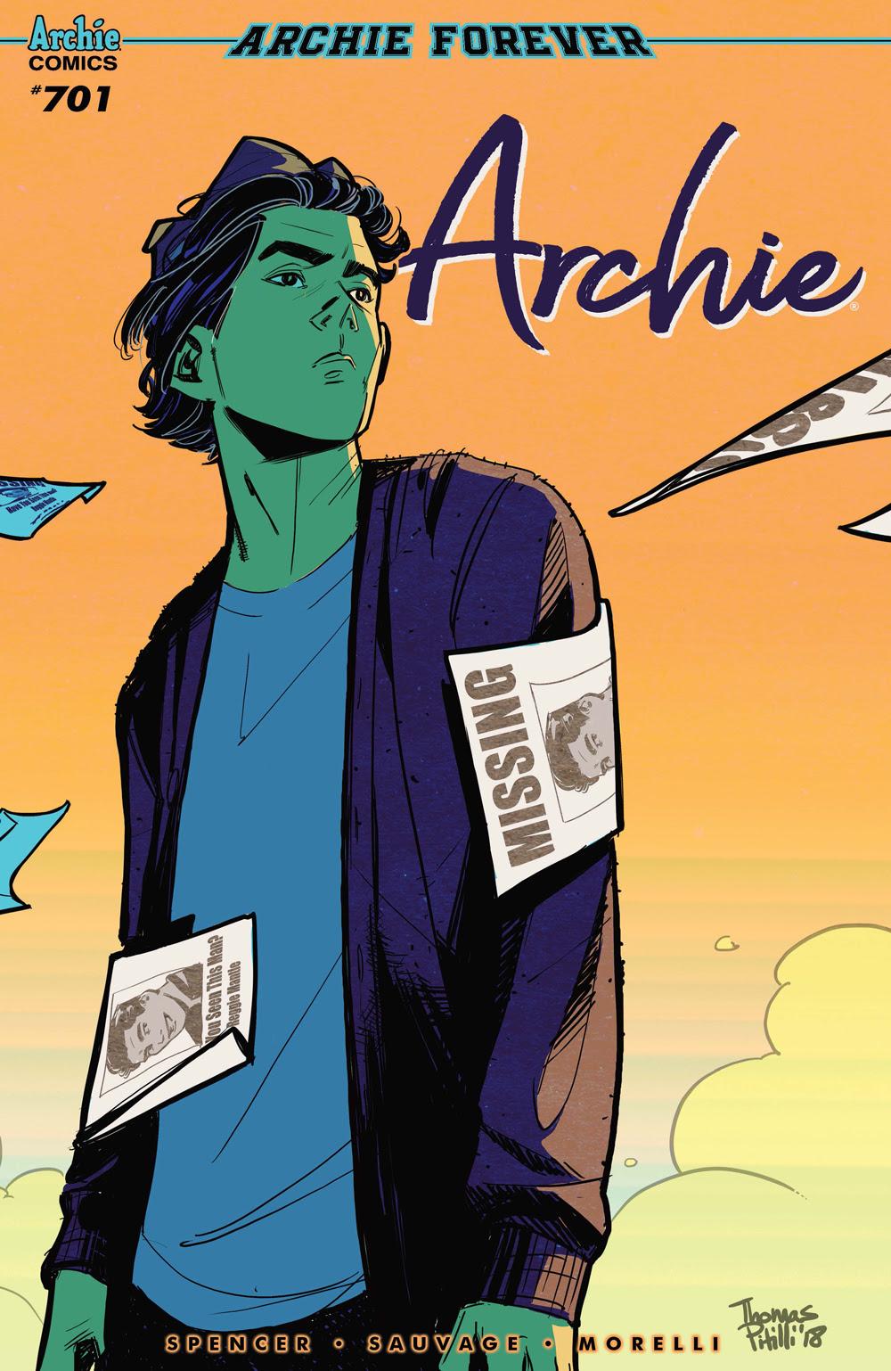 Archie #701: CVR C Pitilli