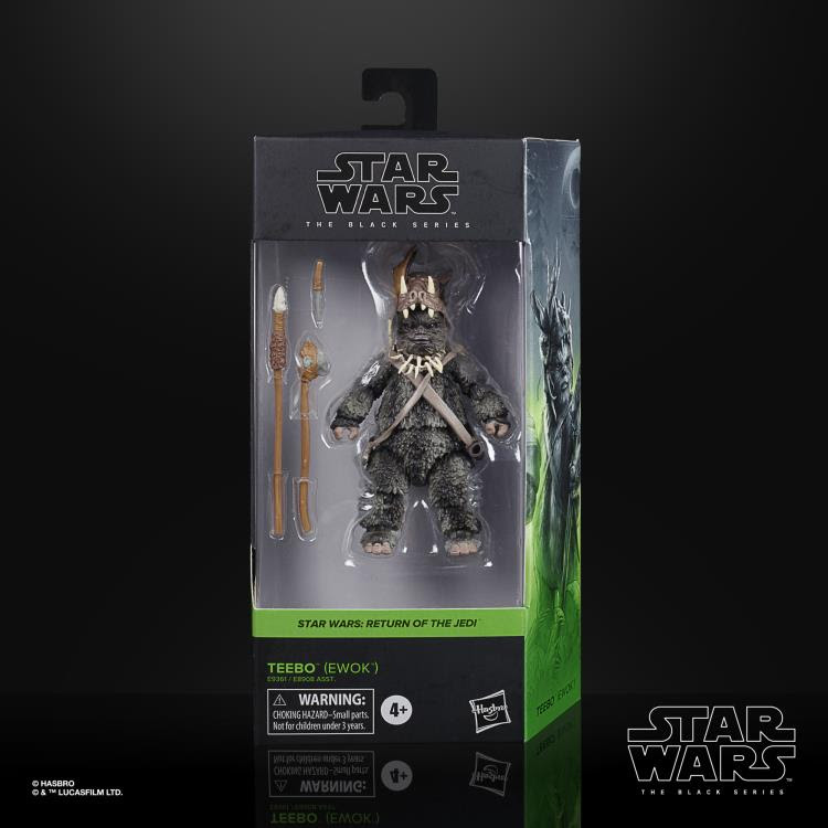 Image of Star Wars The Black Series Wave 5 (2020) Teebo the Ewok 6-Inch Action Figure