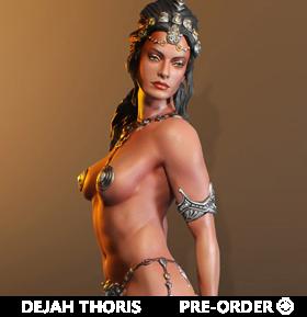 Dejah Thoris Princess of Mars 1/5 Scale Limited Edition Statue