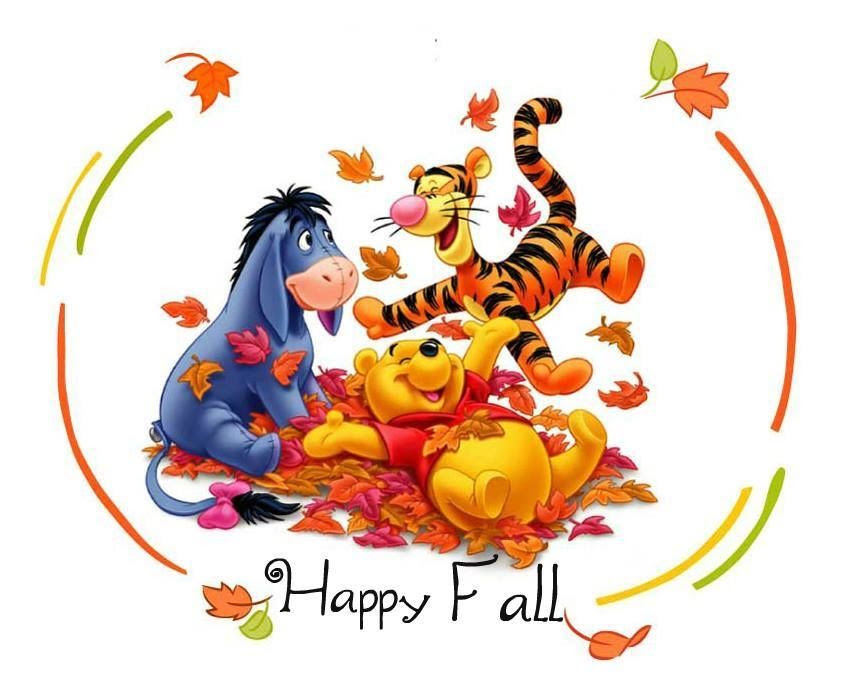 Image result for Happy Fall Disney clip art