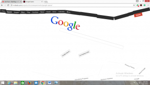 funny google space trick