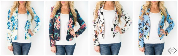 Style Steals 6/6/16 - Summer Blazers for $25.95 + FREE SHIPPING w/code SUMMERBLAZER