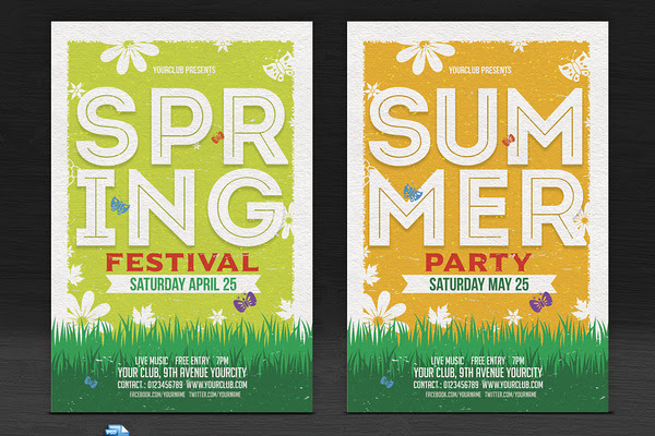 Spring/Summer Flyers