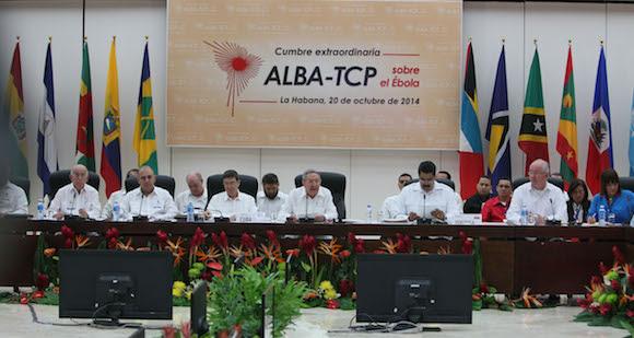 Cumbre Extraordinaria del AlBA-TCP sobre el Ébola. Foto: Ismael Francisco/ Cubadebate.