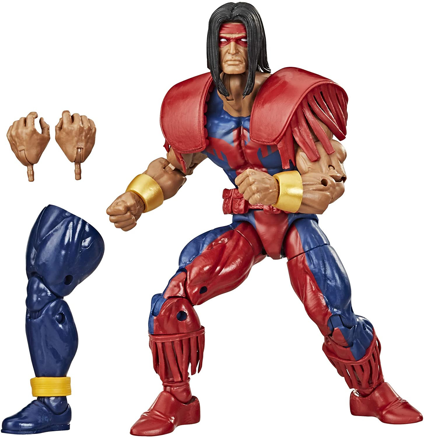 Image of Hasbro Marvel Legends Series Collection 6-inch Marvel's Warpath Action Figure Toy Premium Design and 2 Accessories