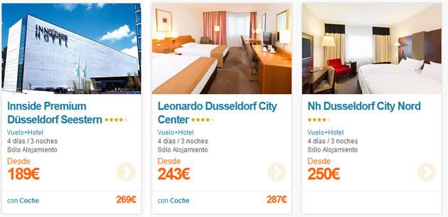 Vuelo + Hotel en Dusseldorf
