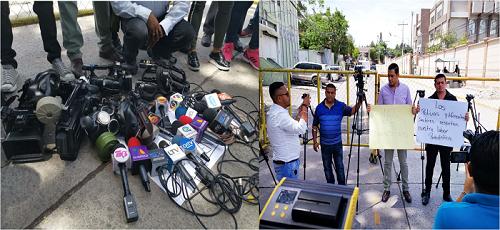 periodistas condena represion