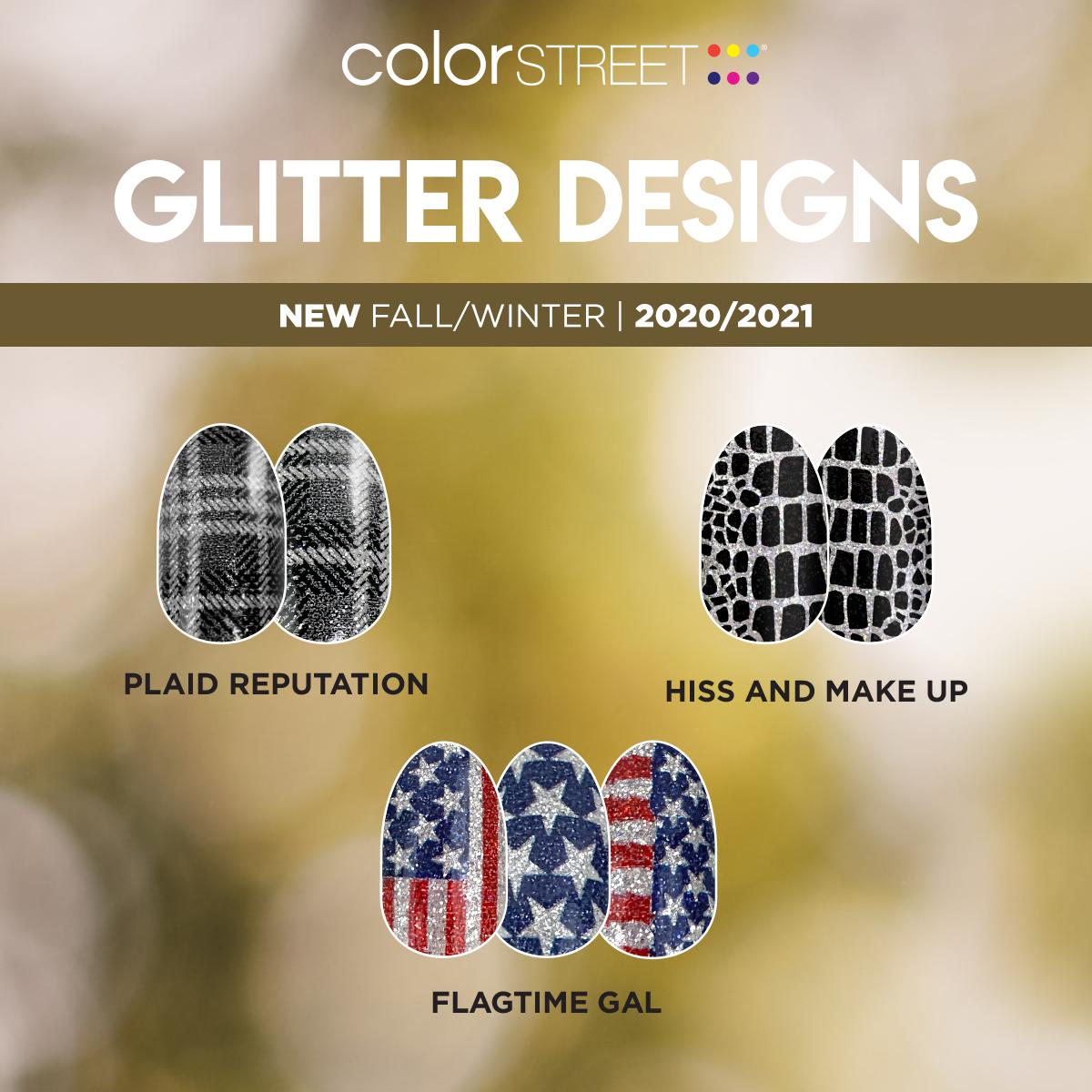 Color Street's Fall/Winter 2020 Glitter Designs