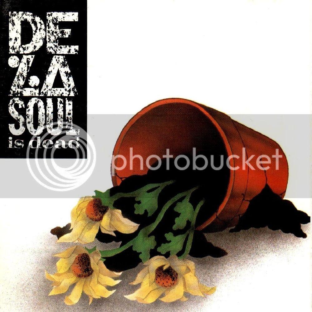 De La Soul Is Dead Cover