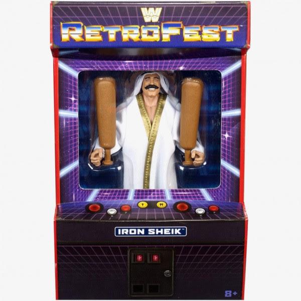 Image of WWE Retrofest Iron Sheik Action Figure