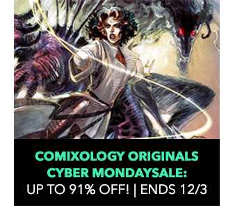 ComiXology Originals Sale: up to 91% off! Sale ends 12/3.