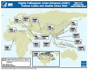 First Human Avian Influenza A (H5N1) Virus Infection Reported in Americas