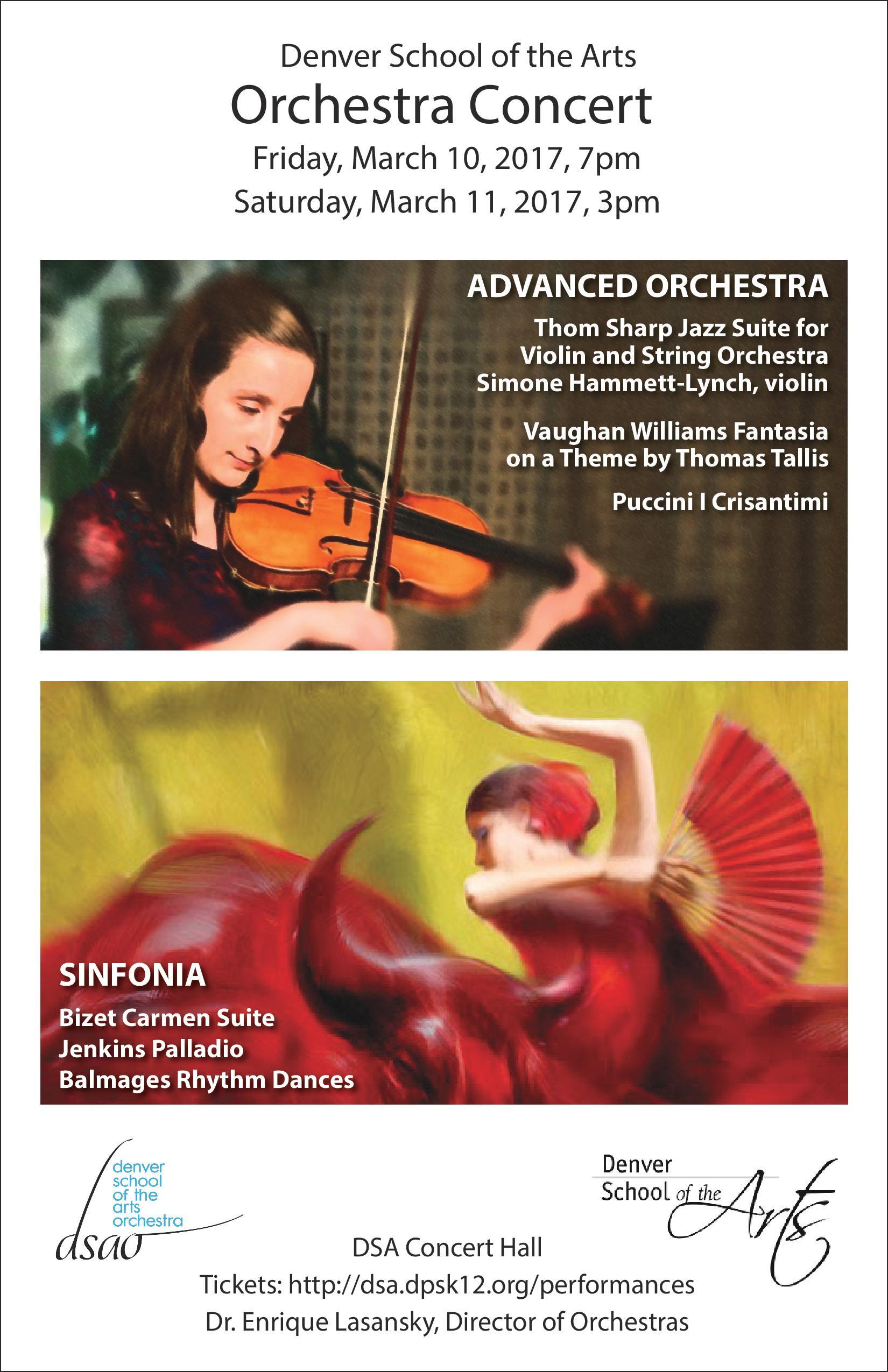 DSA Orchestra | Week of February 26th, 2017