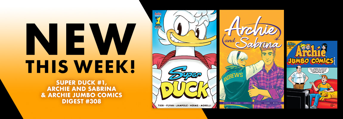 Preview this week's new comics!