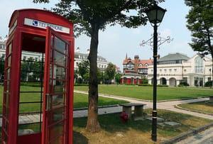 Thames Town, l'Angleterre répliquéeà l'identique en Chine