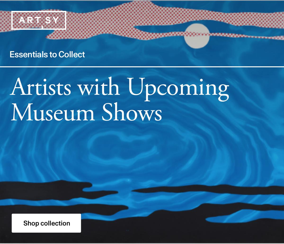 Artistas com grandes mostras de museus