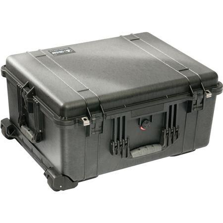 1610 Watertight Hard Case with Cubed Foam & Wheels - Black