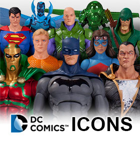 DC COMICS ICONS FIGURES