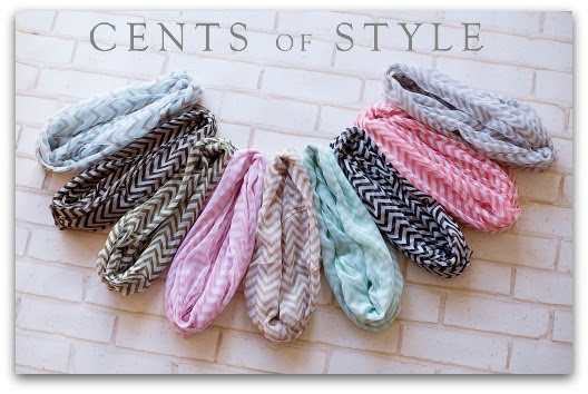 Flash Sale- Chevron Infinity Scarf- $6.97 & FREE SHIPPING with Code MAYDEAL